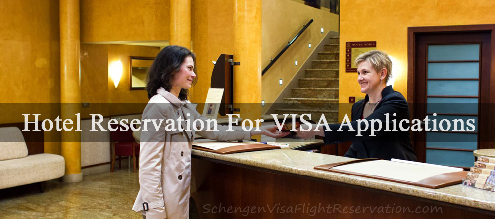 Hotel reservation for visa applications schengen travel for Reservation dhotel
